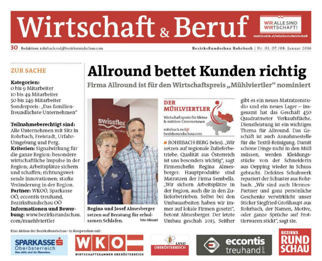Allround_Rohrbach_Nominierung_Mühlviertler_BezirksRundschau