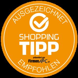 FirmenABC Ausgezeichnet ShoppingTipp