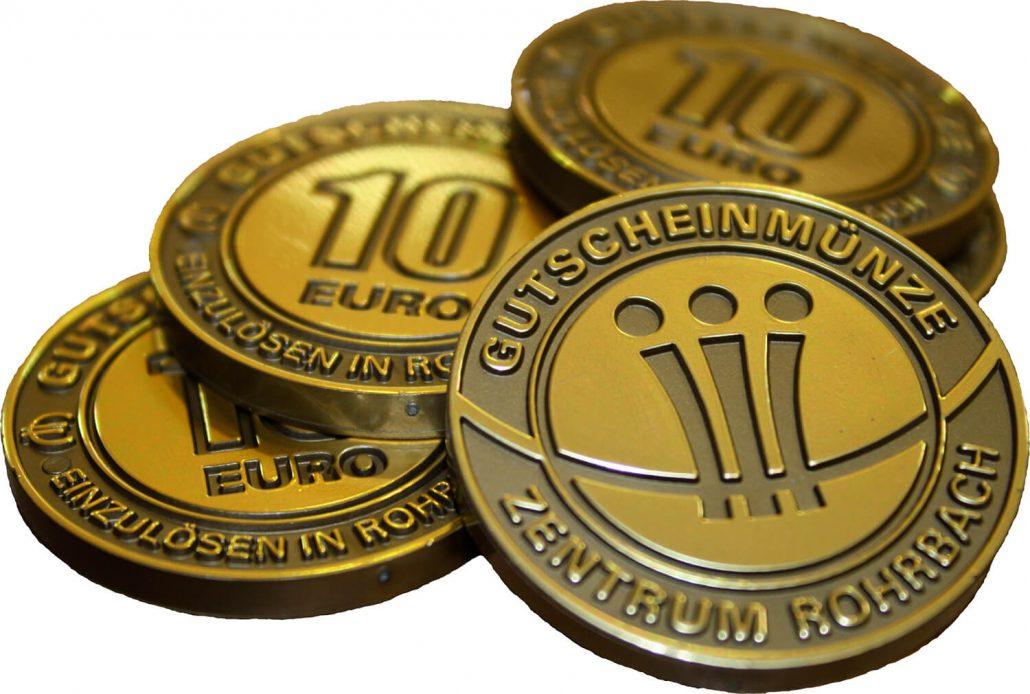 Rohrbacher Gutscheinmünzen